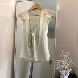 BANANA Republic blouse.